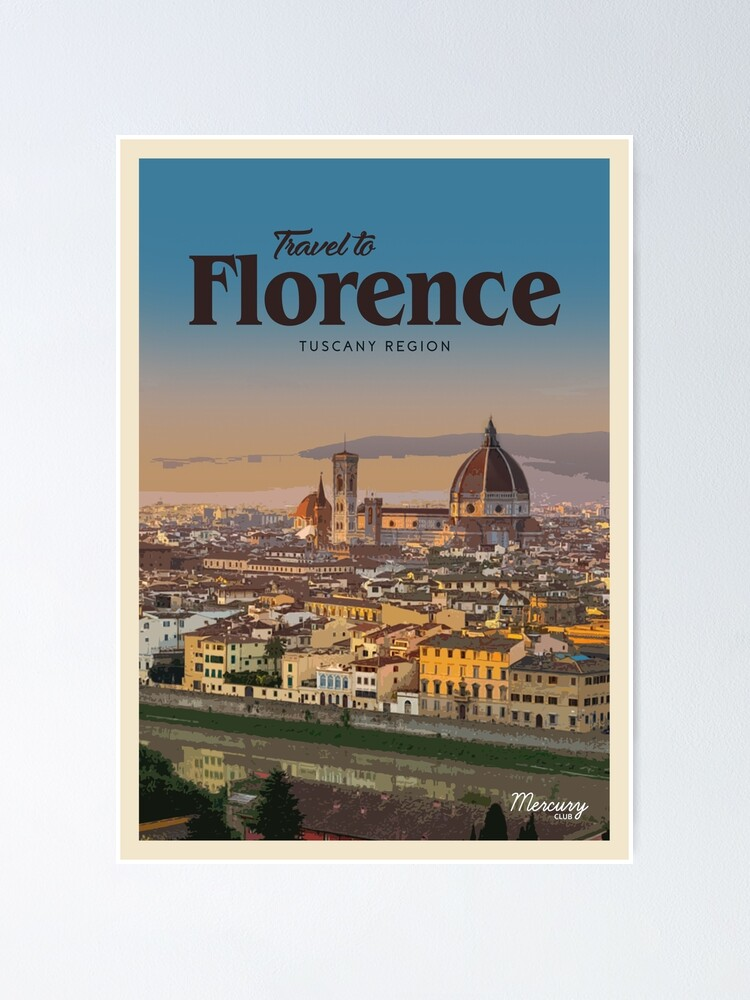 Alternate view of Florence  Poster