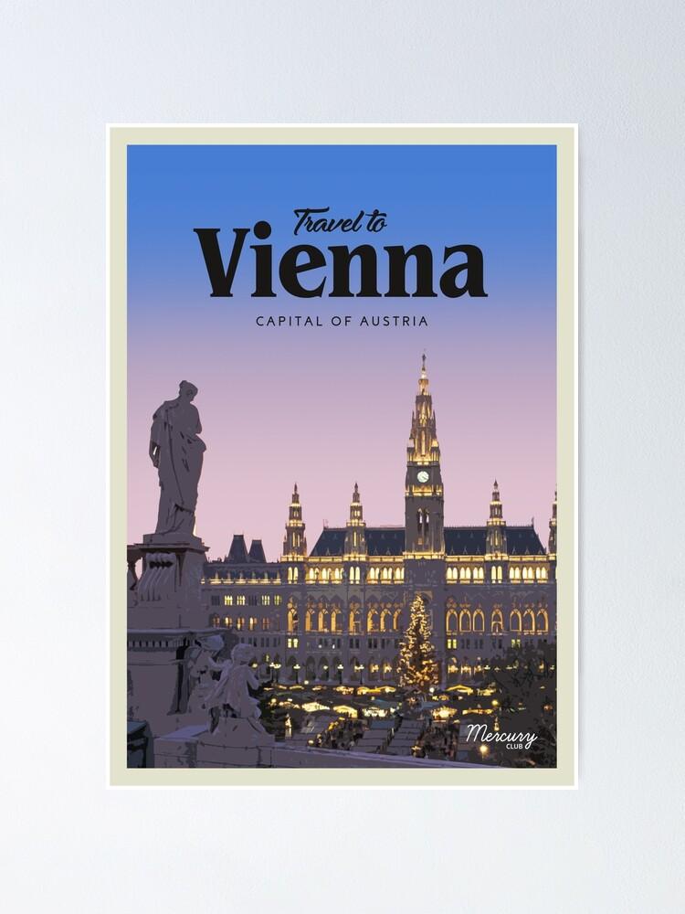 Alternate view of Vienna  Poster