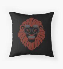 Hipster Style, Mr. Lion Wild Animal Lovers Gift Bodenkissen
