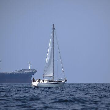 Sailing by Blauer