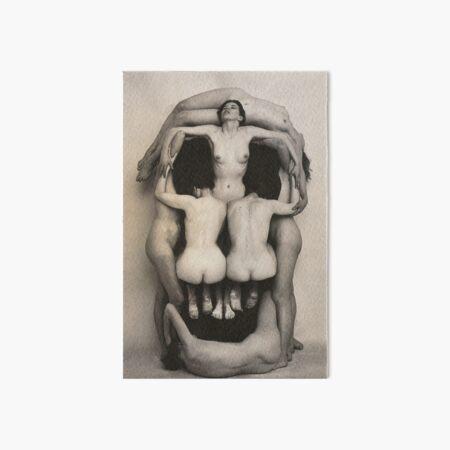 Dalí Skull Art Board Print