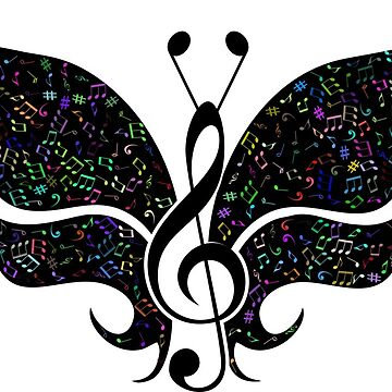 Musical Butterfly by GeneralHooHa