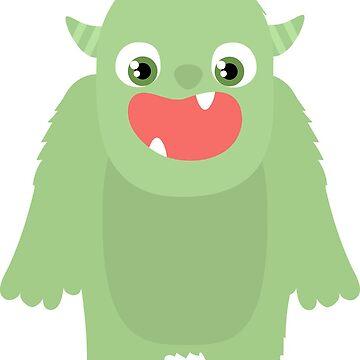 Cute Monster by GeneralHooHa