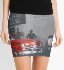 The Old Balmain Garage Mini Skirt