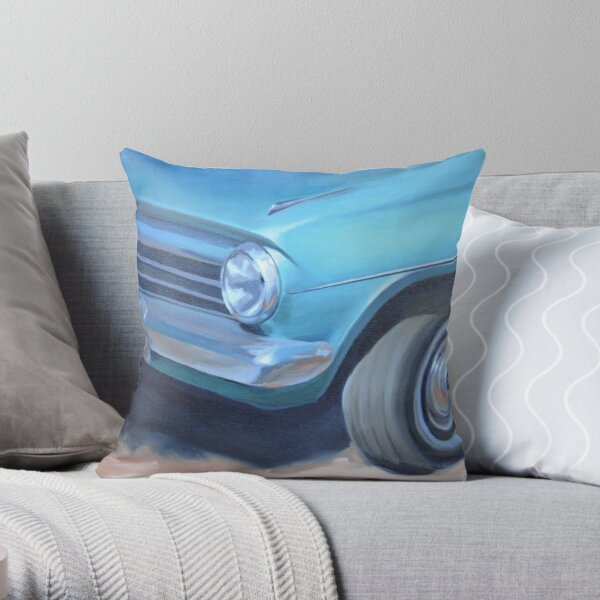 At Manly   Feat. 64 EH Holden Throw Pillow