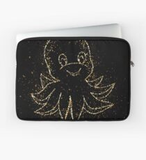 Animal cartoon comic golden ornament Gold Laptop Sleeve
