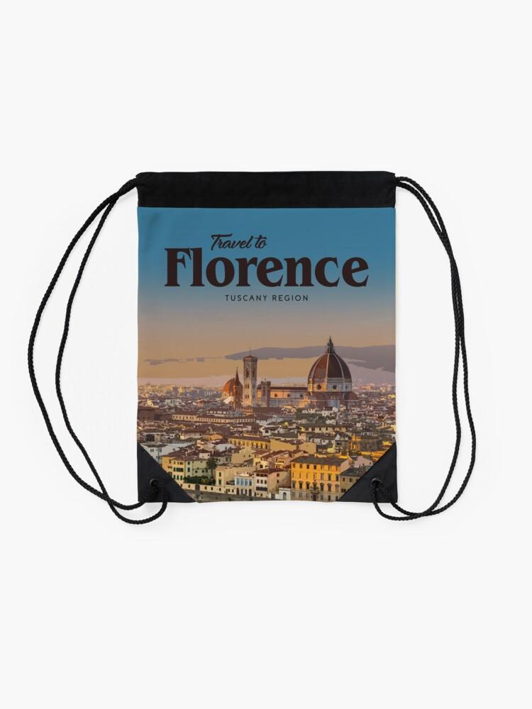 Alternate view of Florence  Drawstring Bag