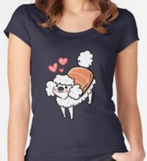 Pooshi love Women's Fitted Scoop T-Shirt