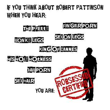 ROBSESSED CERTIFIED de imaginadesigns