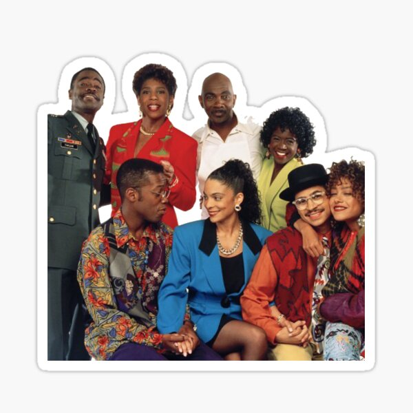 A Different World Characters Sticker