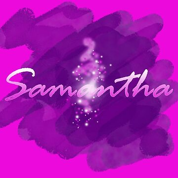Samantha in pink and purple glow by craig777red
