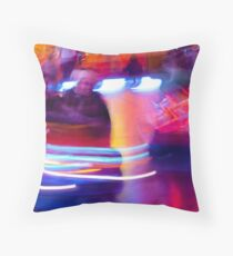 Dodgems. Throw Pillow