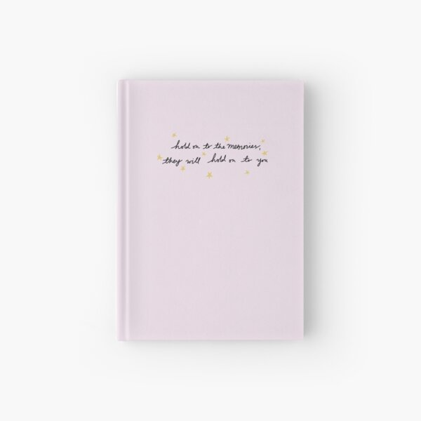hold on to the memories - taylor swift Hardcover Journal