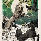 Rejoice and stay WILD by WOLFSKULLJACK