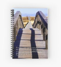 The Lord will give grace.... Spiral Notebook