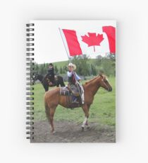 Bar U Ranch - Canada Day 2010 Spiral Notebook
