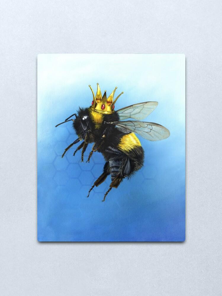 Alternate view of Queen Bee Metal Print