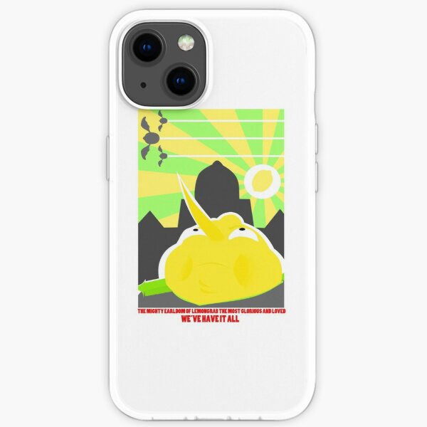 Lemongrab the Most Glorious iPhone Soft Case
