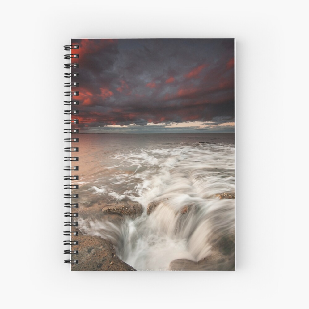 Get in the Hole Spiral Notebook