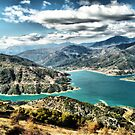 Mornos dam_HDR experience_ by George Kypreos