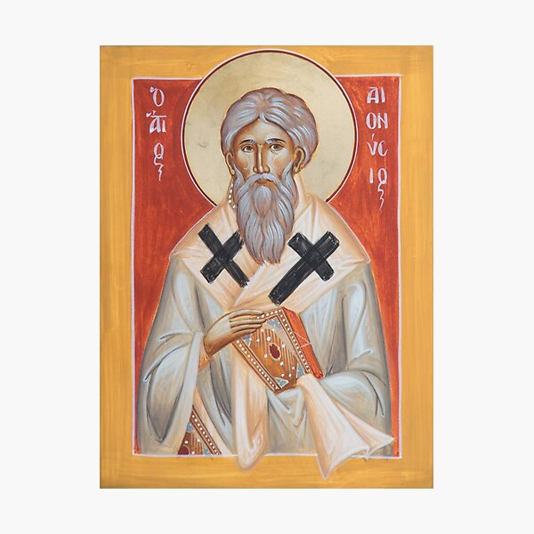 St Dionysios the Areopagite Photographic Print