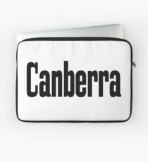 Canberra Australia Raised Me Laptop Sleeve