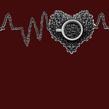Heartbeat Coffee - Great gift idea by Myriala