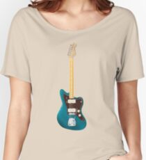 Guitar Offset Women's Relaxed Fit T-Shirt