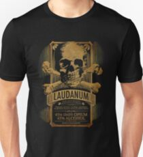 Laudanum Medical Goth Steampunk Label Unisex T-Shirt