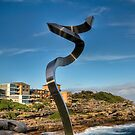 Steel Squiggle by Leigh Nelson