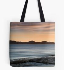 Sunset over Nelson Bay Tote Bag