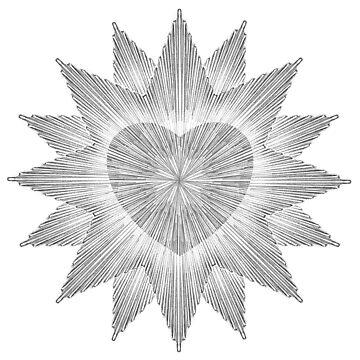 Heart Star by wonder-webb