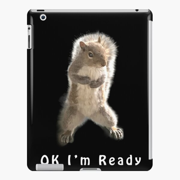 Boxing Squirrel iPad Snap Case