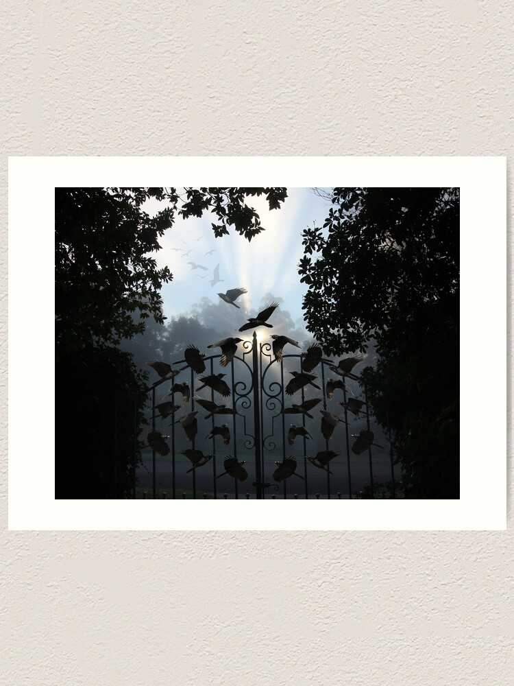 Alternate view of Gateway to Another World Art Print