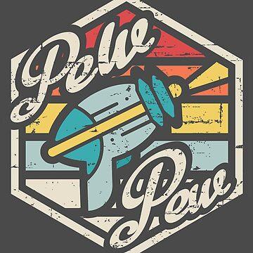 Retro Pew Pew by artlahdesigns