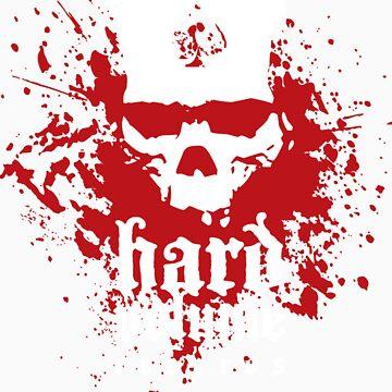 Hard Volume Records Logo by joenatoli