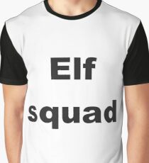 Christmas Quote - Elf squad Graphic T-Shirt