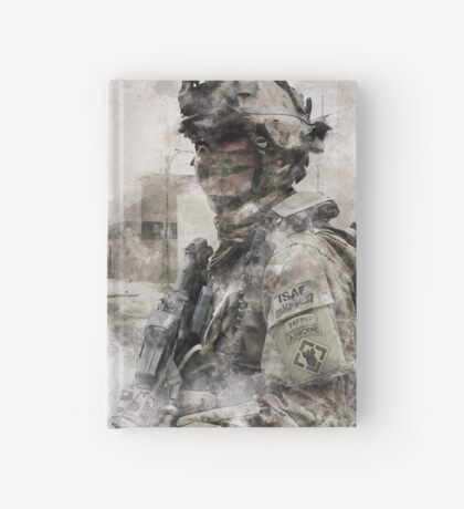 US Army Sapper Hardcover Journal