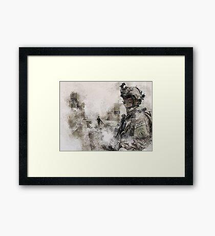 US Army Sapper Framed Print