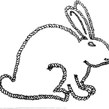 Rope Bunny by ErosLily