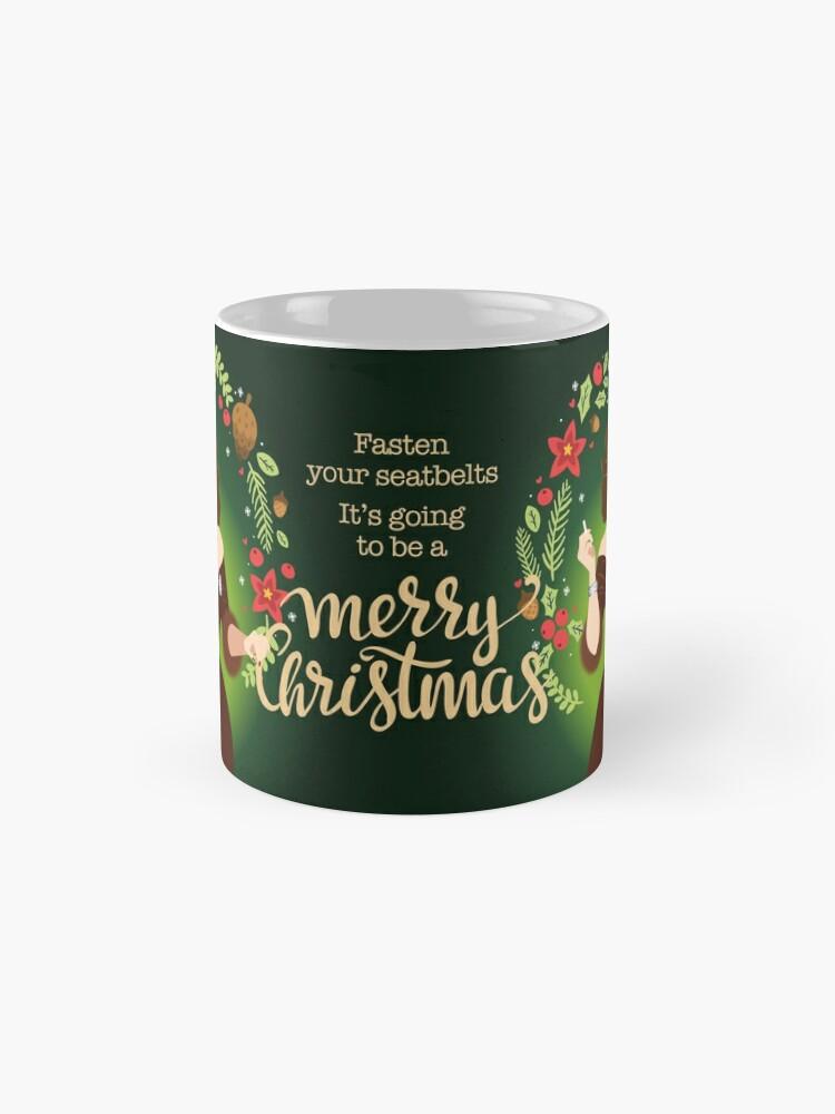 Alternate view of Bumpy Christmas Mug