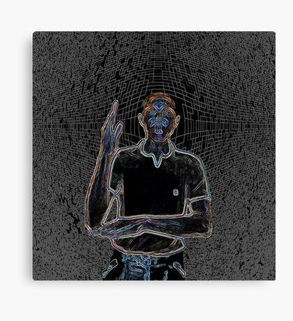 """A person of color"" Canvas Print"