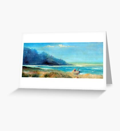 Shipwreck in Greece Greeting Card