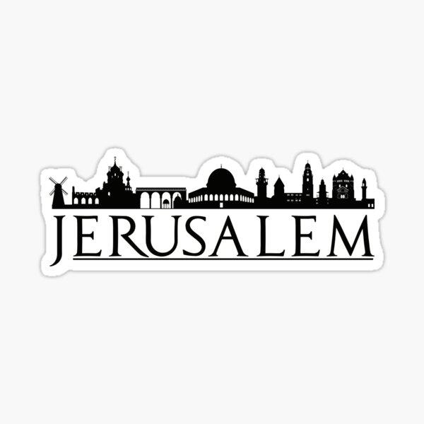 Jerusalem Israel Middle East Love Travel Sticker