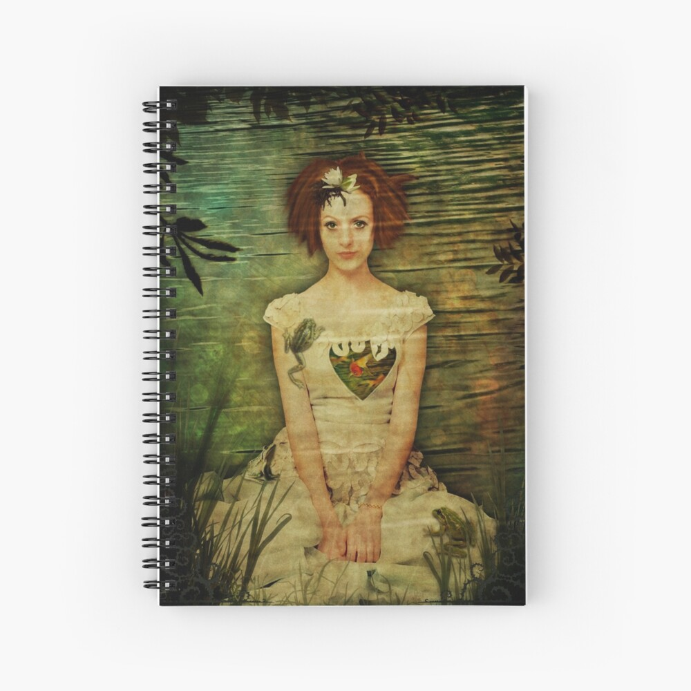 Not Kissing Frogs Spiral Notebook