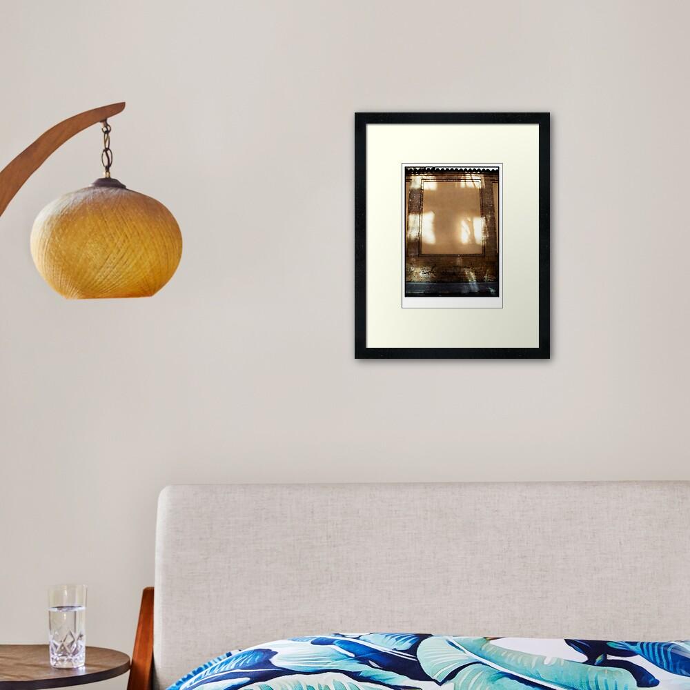The Natural Cross of Palma  Framed Art Print