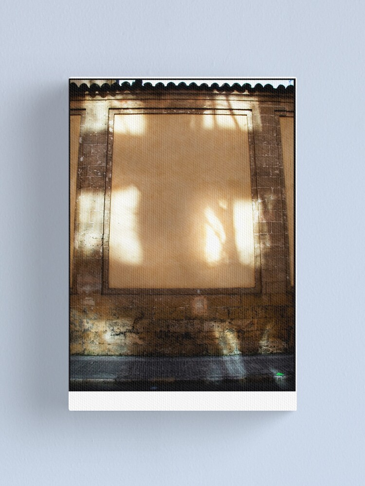 Alternate view of The Natural Cross of Palma  Canvas Print