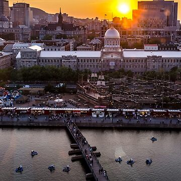 Old Port Sunset by bareri