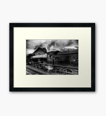 Steam Engine No.63395 Framed Print