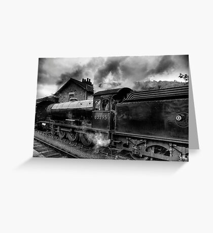 Steam Engine No.63395 Greeting Card